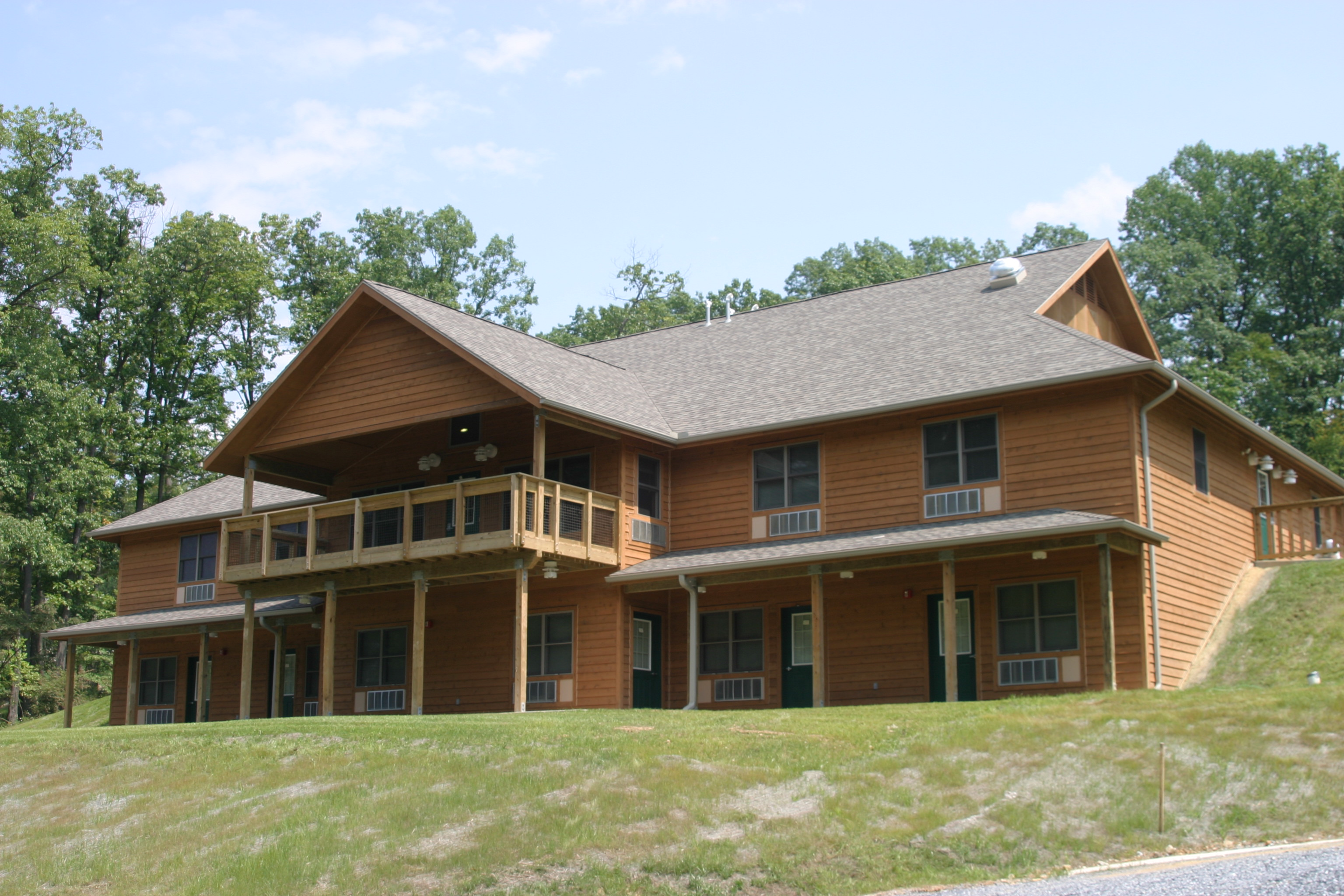 Lodge Aleph & Lodge Bet | Capital Retreat Center | Retreat Lodges