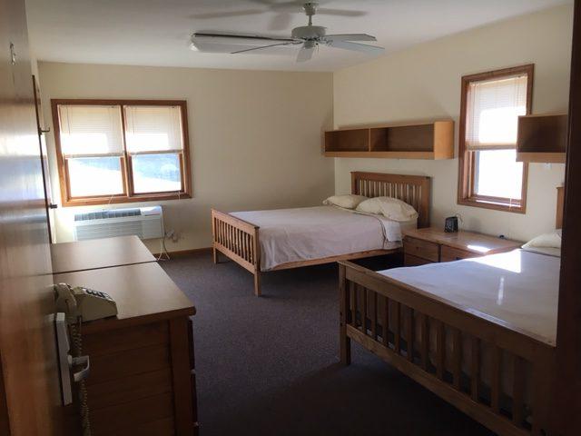 Lodge Aleph & Lodge Bet   Capital Retreat Center   Retreat Lodges